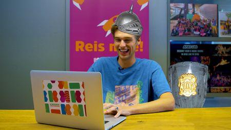 Afbeelding van Dit is onze nieuwe presentator: Ridder!