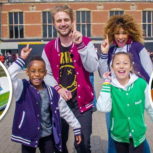 Afbeelding van Race door Amsterdam